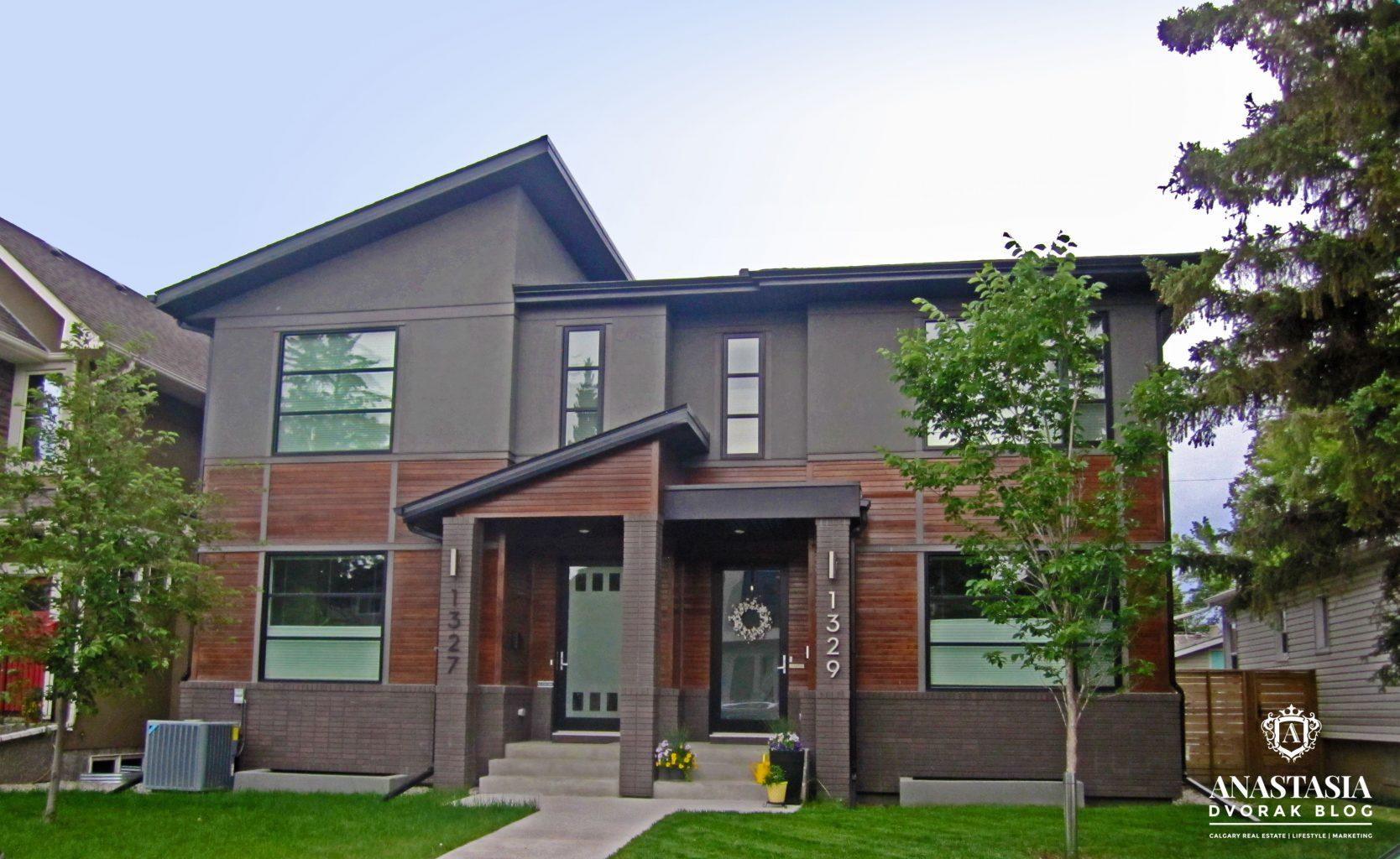 Modern Infill - Duplex