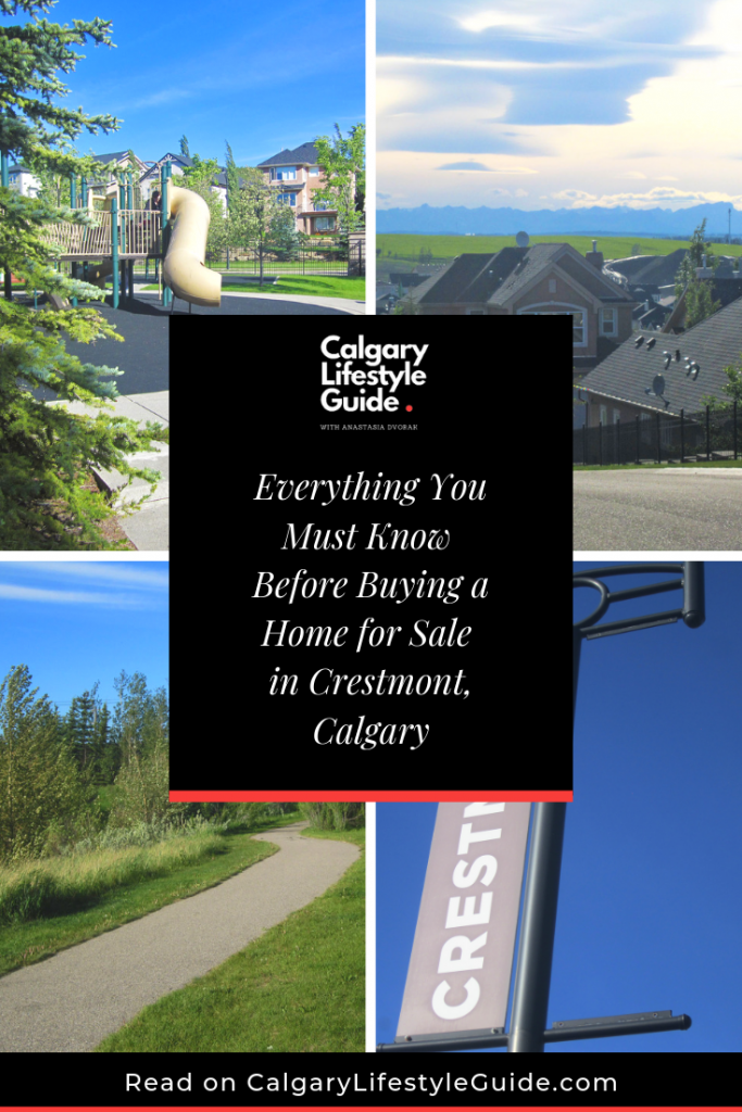 Crestmont Calgary Neighbourhood Guide: Schools, splash park, directions, showhomes - it's all here!