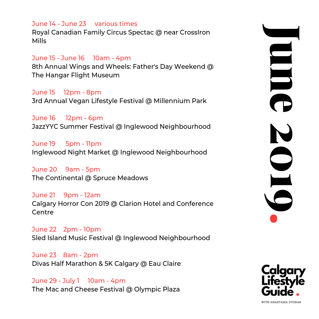 Calgary Fun Things to do in Calgary June 2019 Local Events