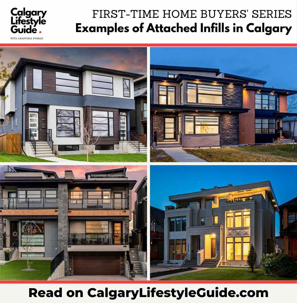 Examples of Attached Infills in Calgary by Calgary Lifestyle Guide