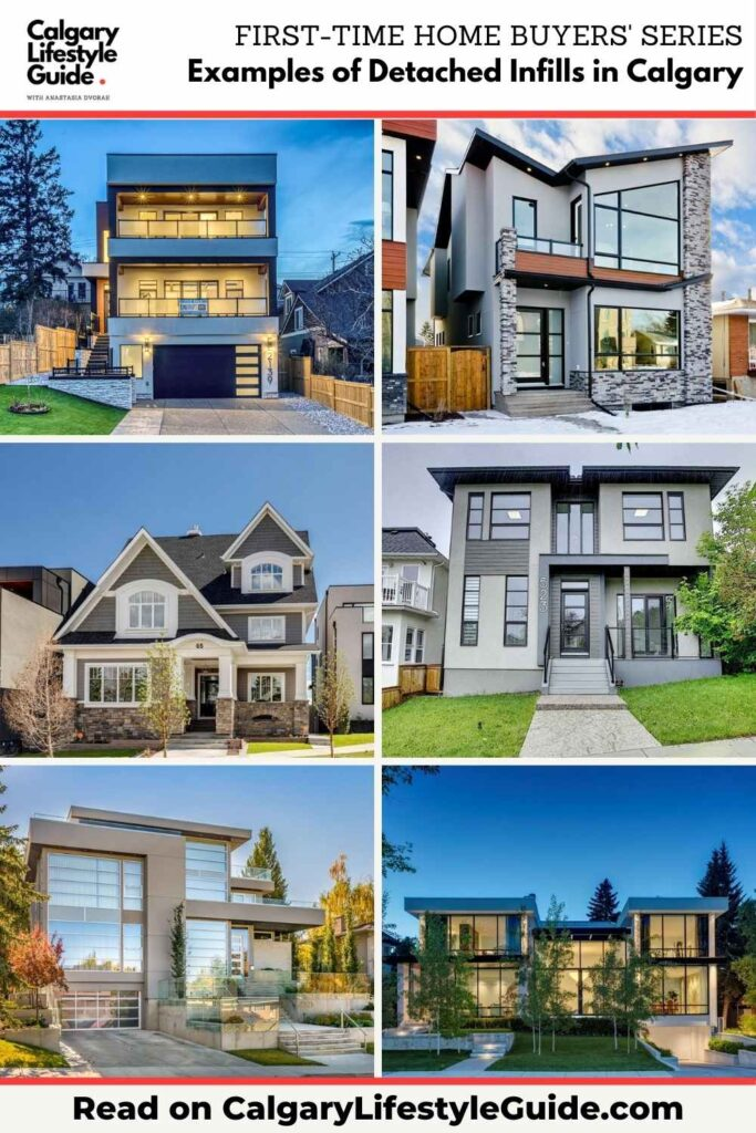 Examples of Detached Infills in Calgary by Calgary Lifestyle Guide
