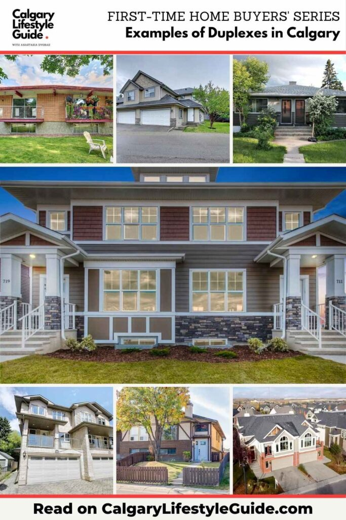 Examples of Duplexes in Calgary by Calgary Lifestyle Guide