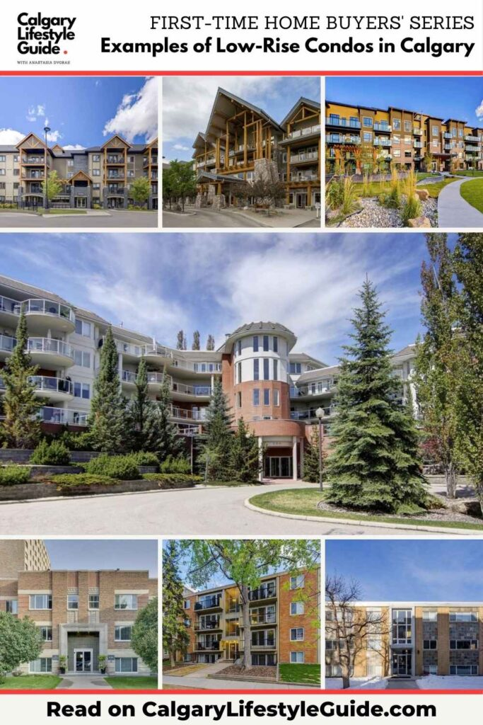 Examples of Low-Rise Condos in Calgary by Calgary Lifestyle Guide
