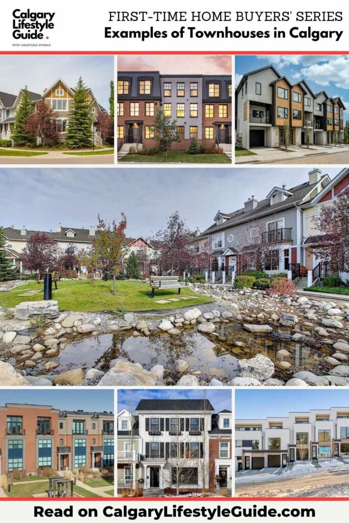 Examples of Townhouses in Calgary by Calgary Lifestyle Guide